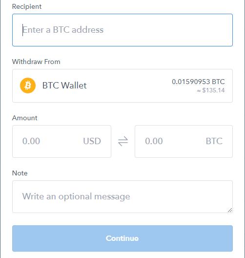 coinbase invio