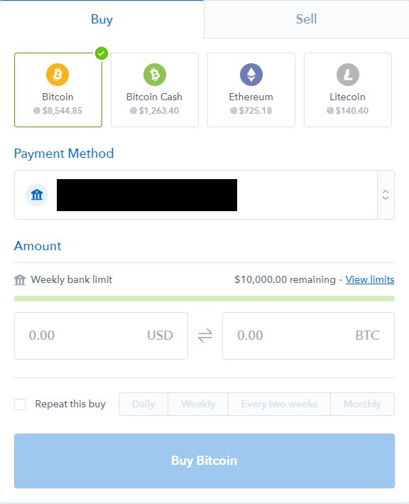 comprare criptovaluta bitcoin